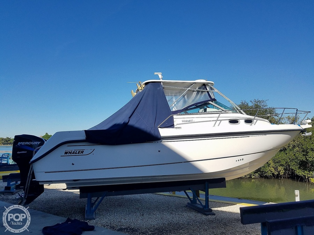2002 Boston Whaler boat for sale, model of the boat is 295 Conquest & Image # 10 of 40