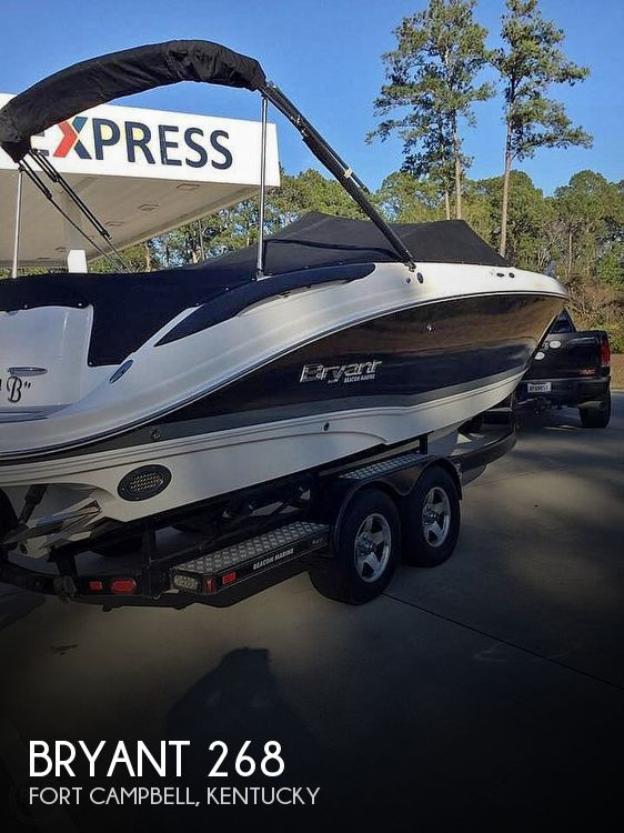 Used Bryant Boats For Sale by owner | 2012 Bryant 268