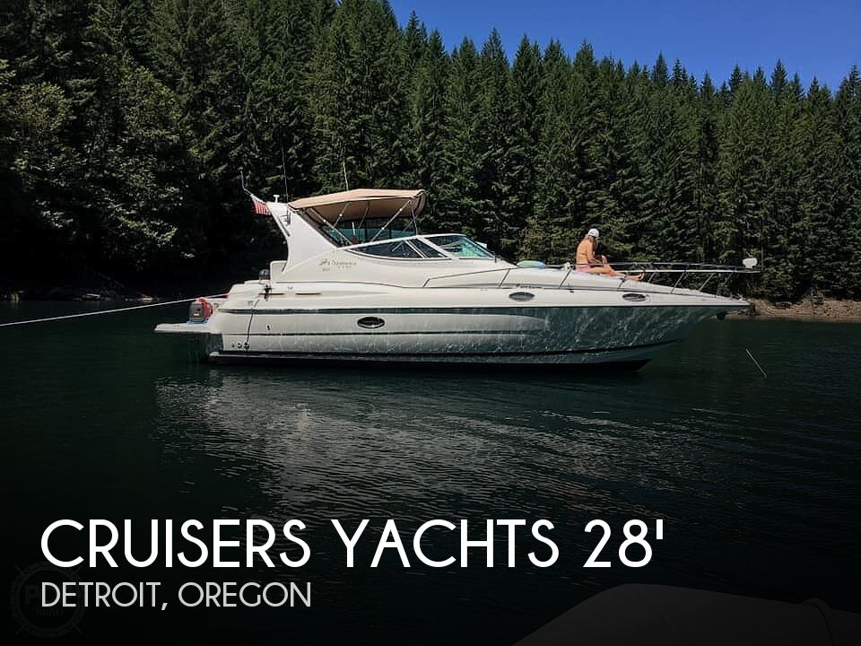 Used Boats For Sale in Eugene, Oregon by owner | 2003 28 foot Cruisers Yachts Capri
