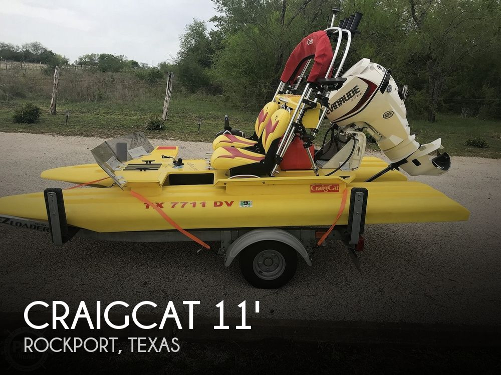 Used CraigCat Boats For Sale by owner | 2017 11 foot CraigCat Key West