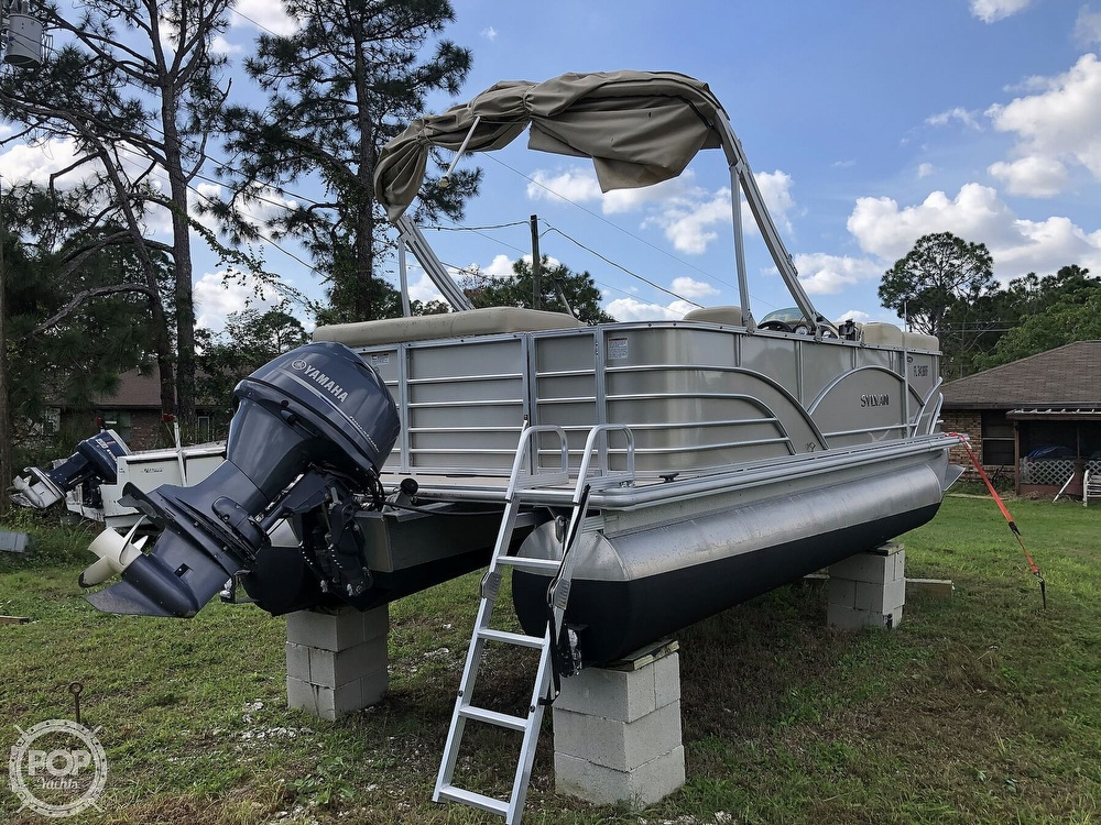 2017 Sylvan boat for sale, model of the boat is Mirage 820 & Image # 10 of 40