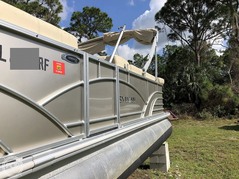 2017 Sylvan boat for sale, model of the boat is Mirage 820 & Image # 31 of 40