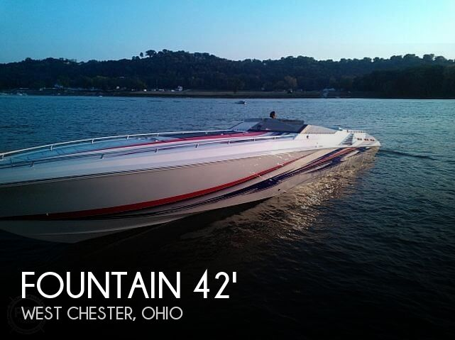 Used Boats For Sale in Dayton, Ohio by owner | 2005 Fountain 42 Executioner