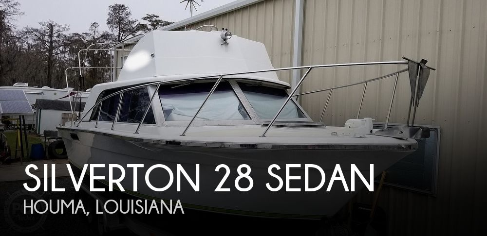 1975 SILVERTON 28 SEDAN for sale