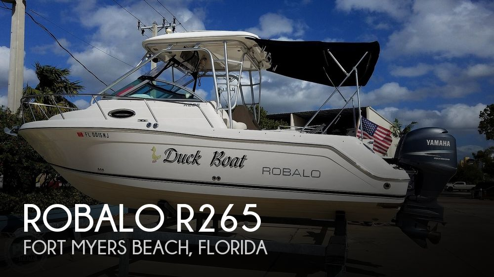 Used Robalo Boats For Sale by owner | 2007 Robalo R265