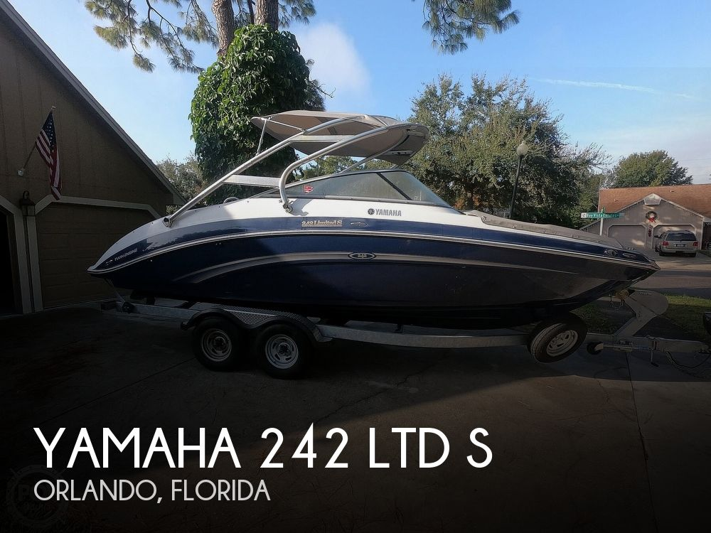 2013 Yamaha boat for sale, model of the boat is 242 Ltd S & Image # 1 of 40