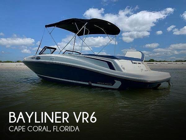 2016 BAYLINER VR6 for sale