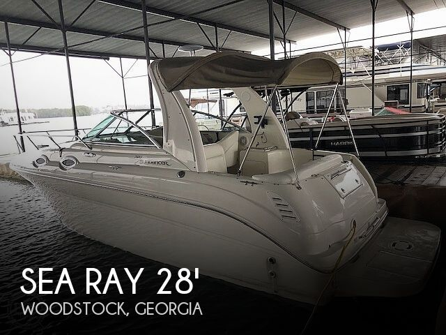 Used Sea Ray Boats For Sale in Georgia by owner | 2004 Sea Ray 260 Sundancer