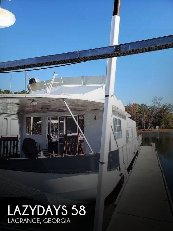 Used Houseboats For Sale in Georgia by owner | 1976 Lazydays 58