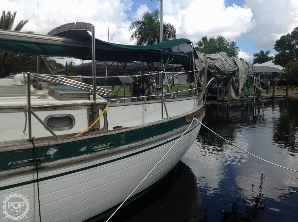 1981 Tayana boat for sale, model of the boat is 37 CUTTER & Image # 4 of 40