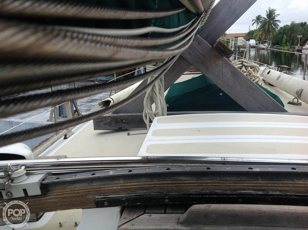 1981 Tayana boat for sale, model of the boat is 37 CUTTER & Image # 17 of 40