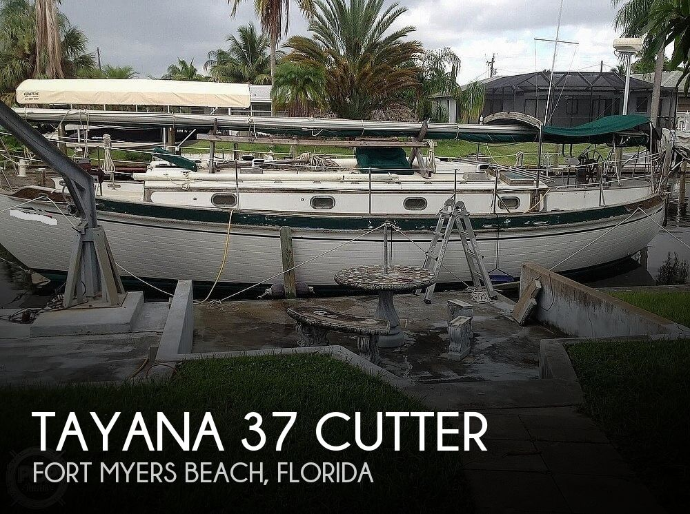 1981 Tayana boat for sale, model of the boat is 37 CUTTER & Image # 1 of 40