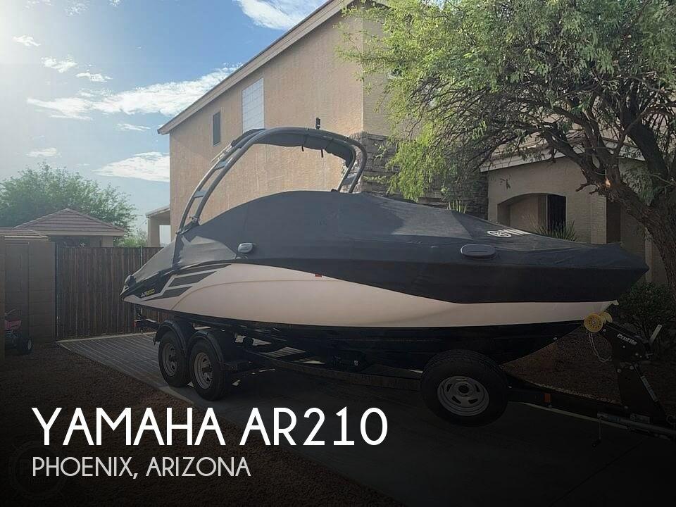 Used Yamaha Ski Boats For Sale in Arizona by owner | 2018 Yamaha 210
