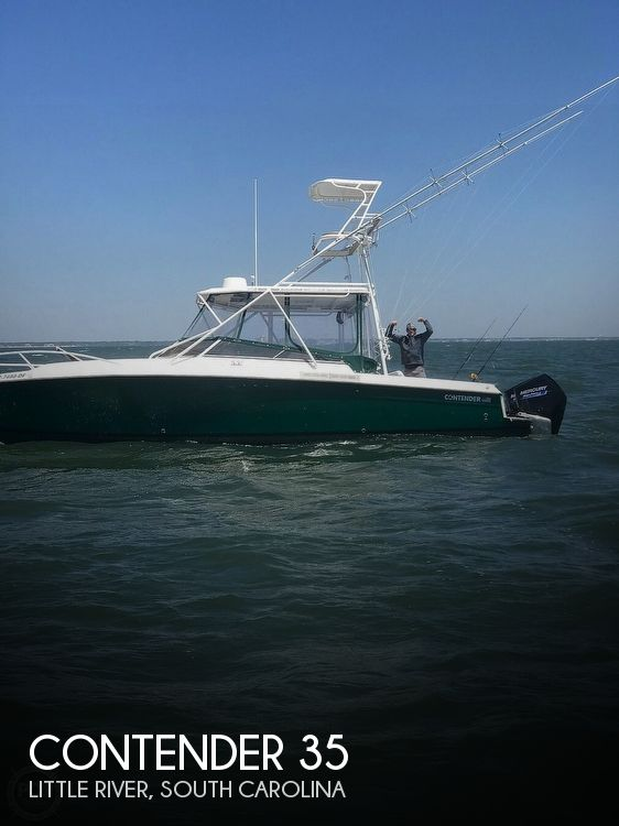 Used Boats For Sale in Wilmington, North Carolina by owner | 1999 Contender 35 Side Console Express