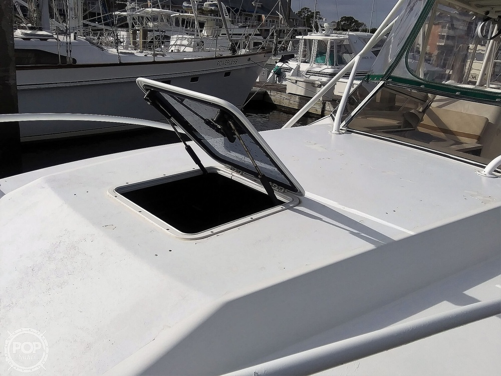 1999 Contender boat for sale, model of the boat is 35 Side Console Express & Image # 9 of 40