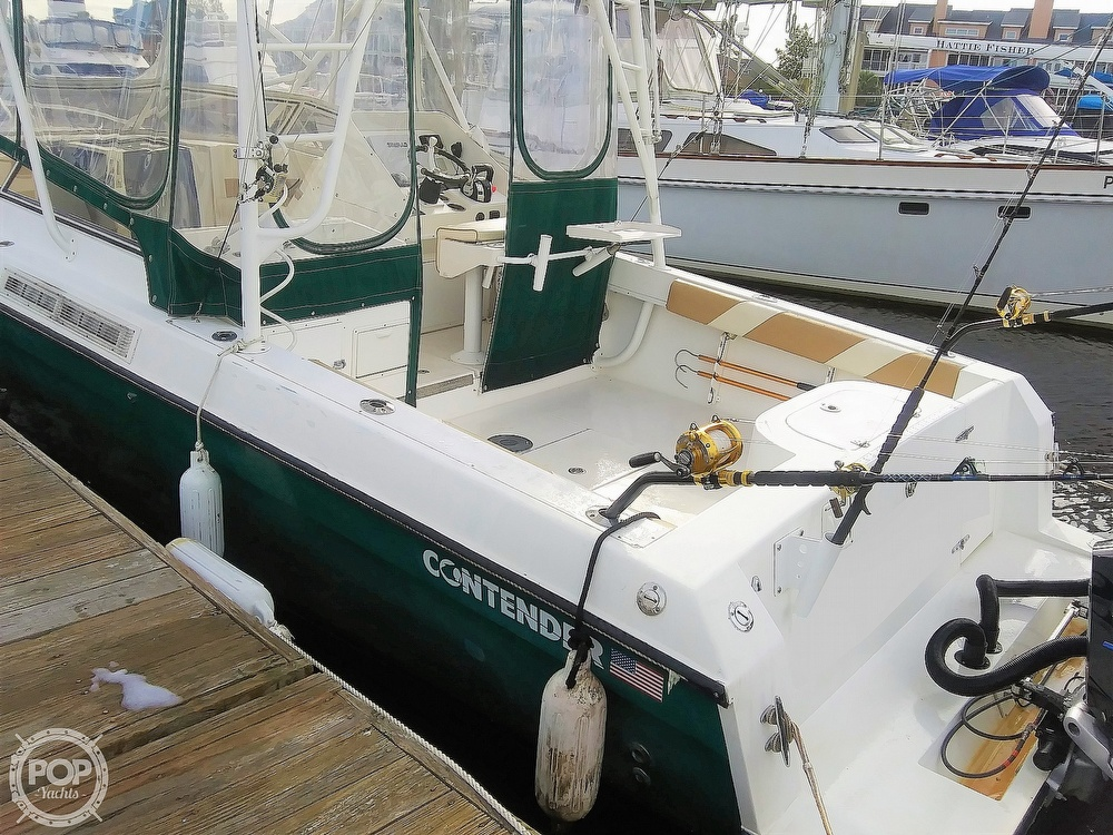 1999 Contender boat for sale, model of the boat is 35 Side Console Express & Image # 17 of 40