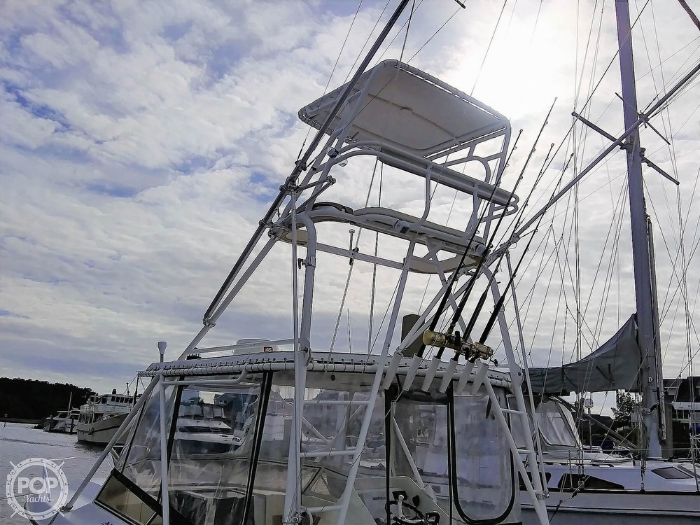 1999 Contender boat for sale, model of the boat is 35 Side Console Express & Image # 19 of 40