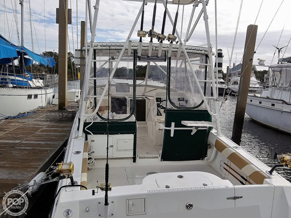 1999 Contender boat for sale, model of the boat is 35 Side Console Express & Image # 25 of 40