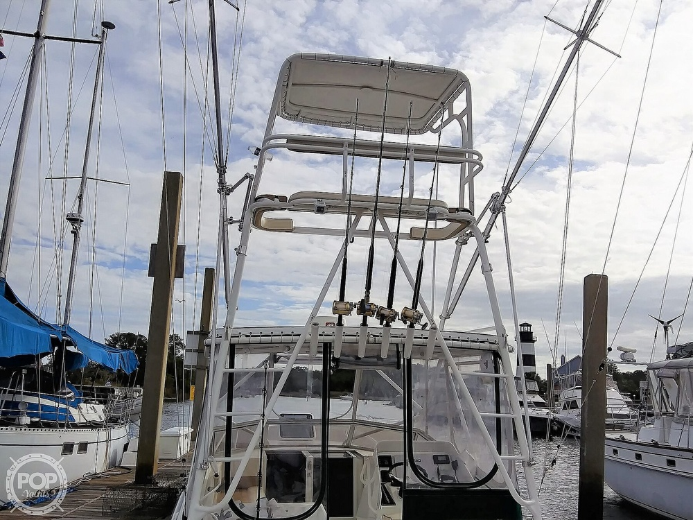 1999 Contender boat for sale, model of the boat is 35 Side Console Express & Image # 26 of 40
