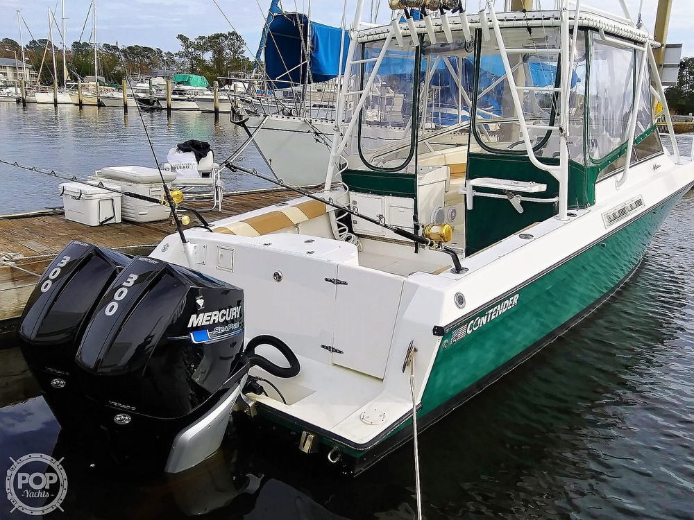1999 Contender boat for sale, model of the boat is 35 Side Console Express & Image # 27 of 40