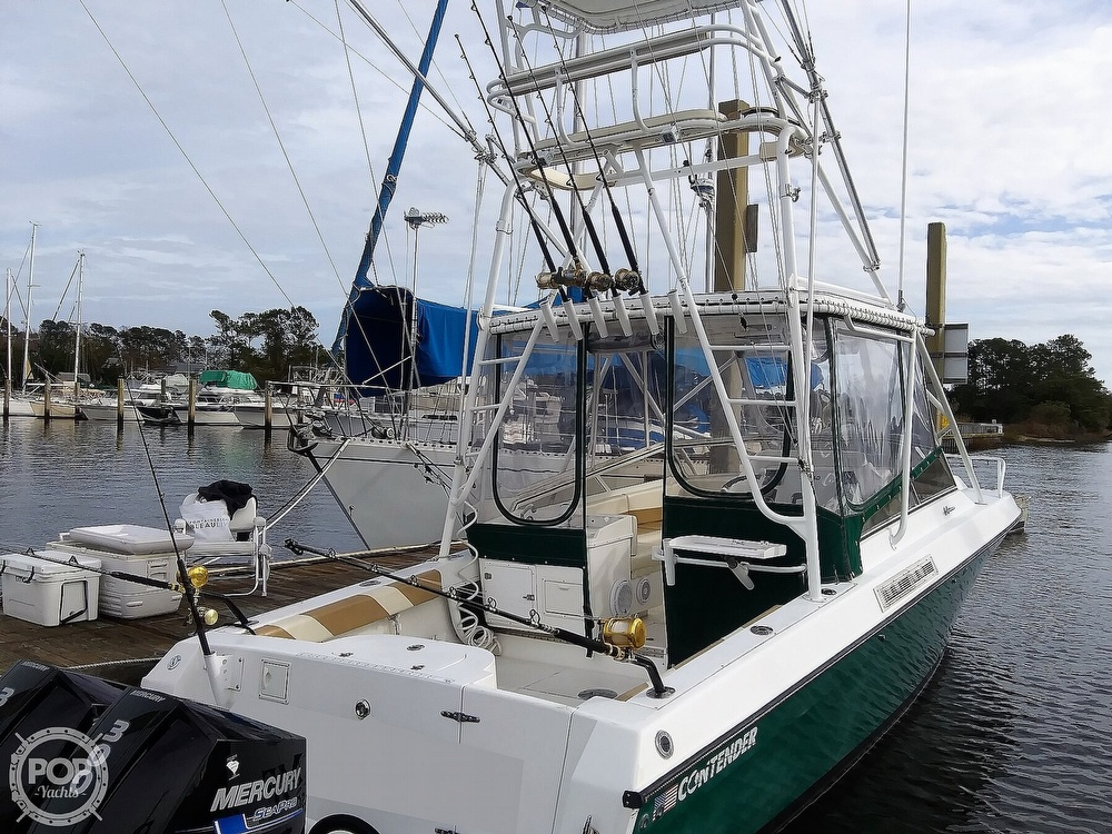 1999 Contender boat for sale, model of the boat is 35 Side Console Express & Image # 28 of 40