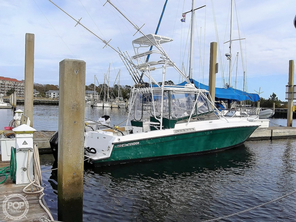 1999 Contender boat for sale, model of the boat is 35 Side Console Express & Image # 29 of 40