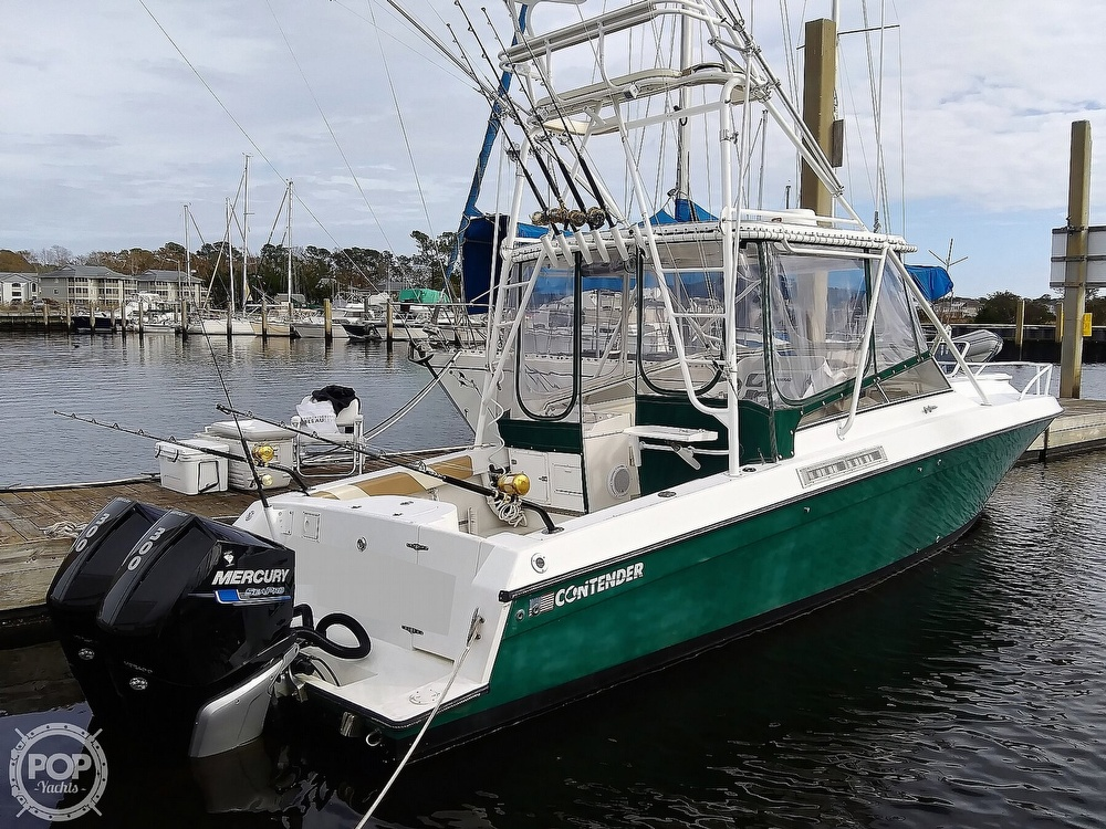 1999 Contender boat for sale, model of the boat is 35 Side Console Express & Image # 30 of 40