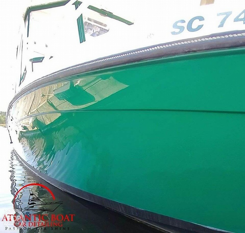 1999 Contender boat for sale, model of the boat is 35 Side Console Express & Image # 2 of 40
