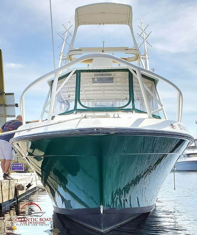 1999 Contender boat for sale, model of the boat is 35 Side Console Express & Image # 3 of 40