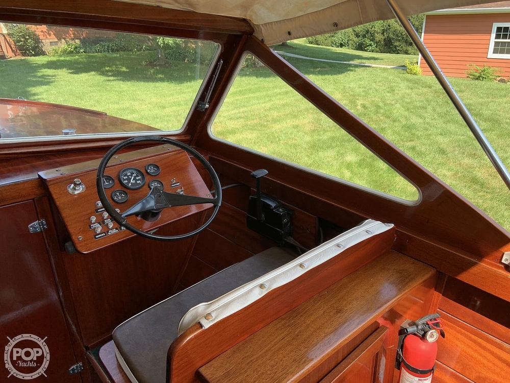 1965 Lyman boat for sale, model of the boat is 21 Inboard-Outboard & Image # 9 of 40