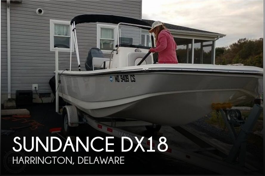 Used Sundance  Boats For Sale by owner | 2017 Sundance Dx18