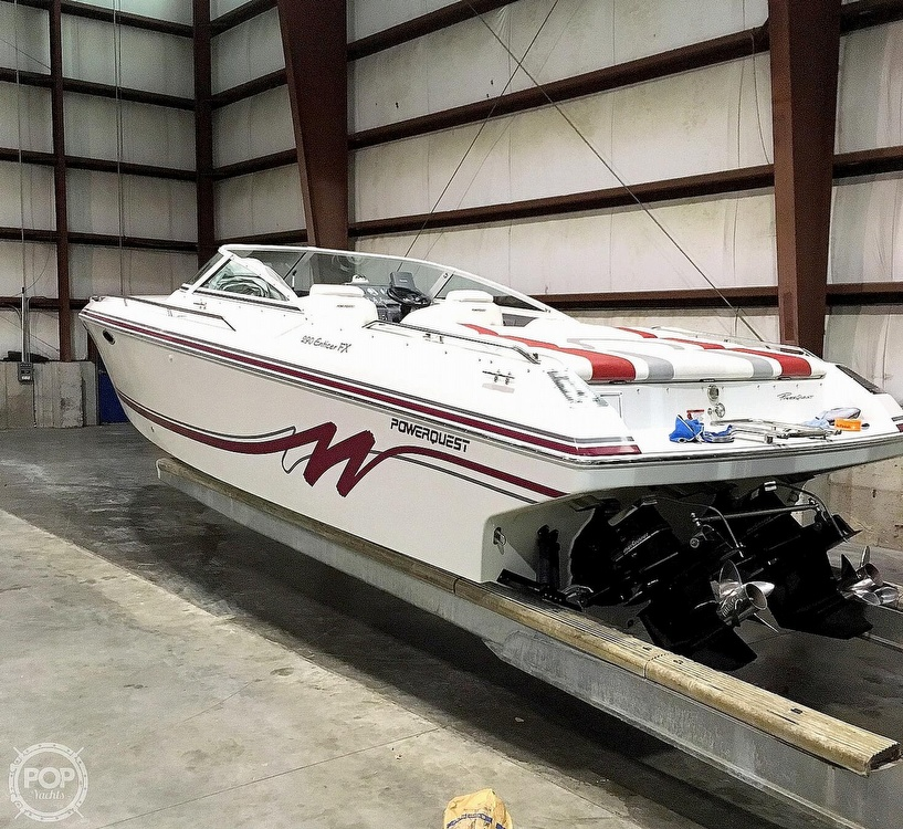 1992 Powerquest boat for sale, model of the boat is 290 Enticer FX & Image # 2 of 2