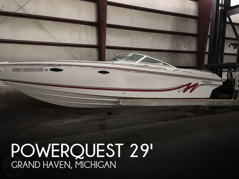 1992 Powerquest boat for sale, model of the boat is 290 Enticer FX & Image # 1 of 2
