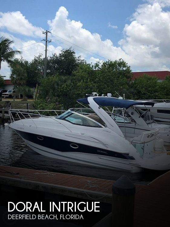 Used Doral Boats For Sale by owner | 2009 31 foot Doral Intrigue