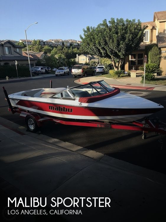 Used MALIBU Boats For Sale in California by owner | 2004 20 foot Malibu Sportster