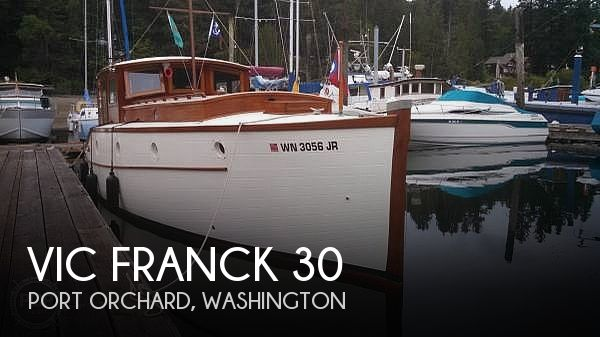 Used Motoryachts For Sale in Washington by owner | 1928 Vic Franck Sea Queen 30
