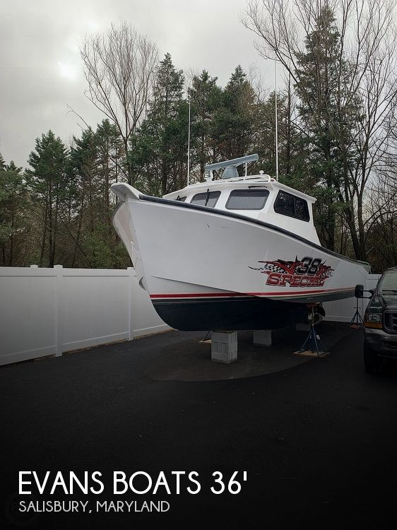 Used Boats For Sale in Salisbury, Maryland by owner | 2015 36 foot Evans Boats Custom Deadrise