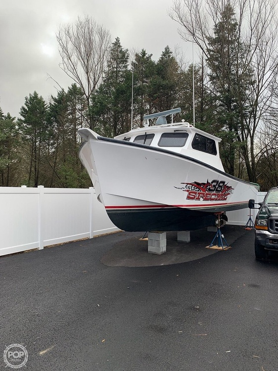 2015 Evans Boats boat for sale, model of the boat is 38 Custom Deadrise & Image # 38 of 40