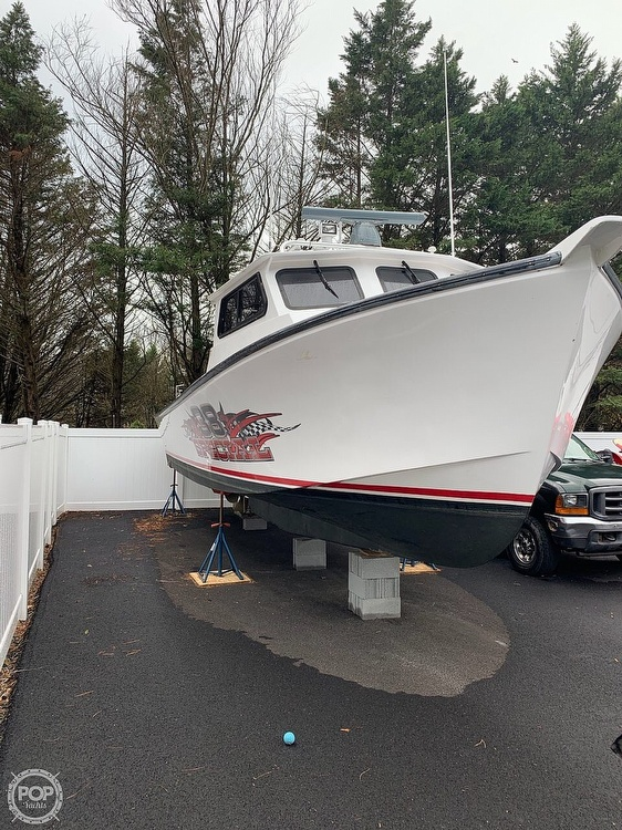 2015 Evans Boats boat for sale, model of the boat is 38 Custom Deadrise & Image # 39 of 40