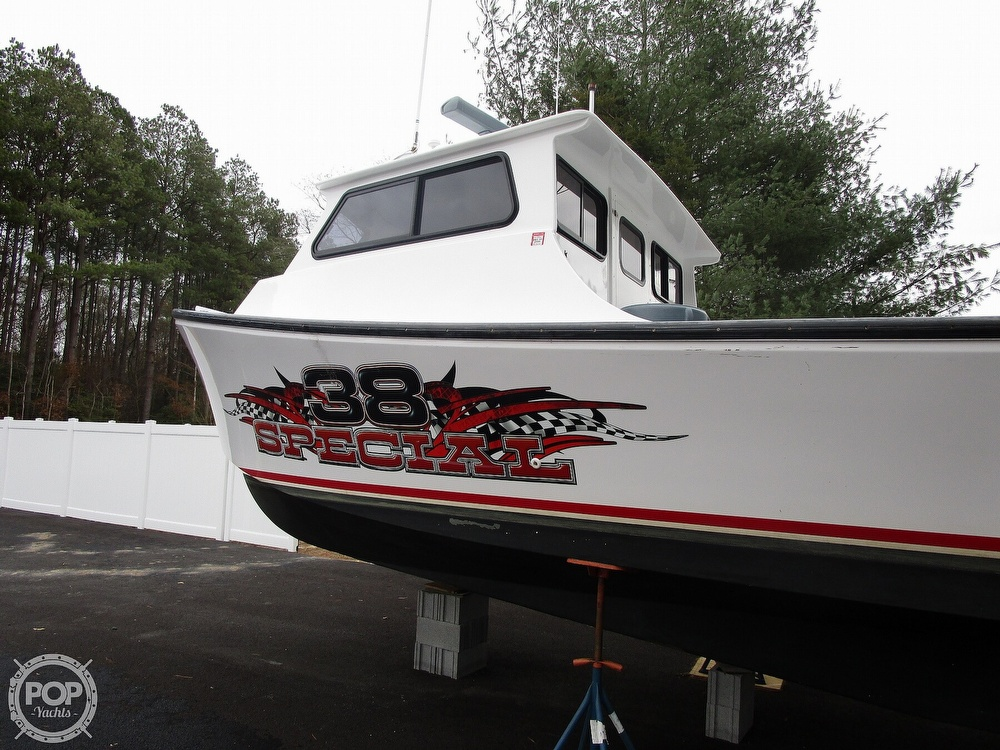 2015 Evans Boats boat for sale, model of the boat is 38 Custom Deadrise & Image # 19 of 40