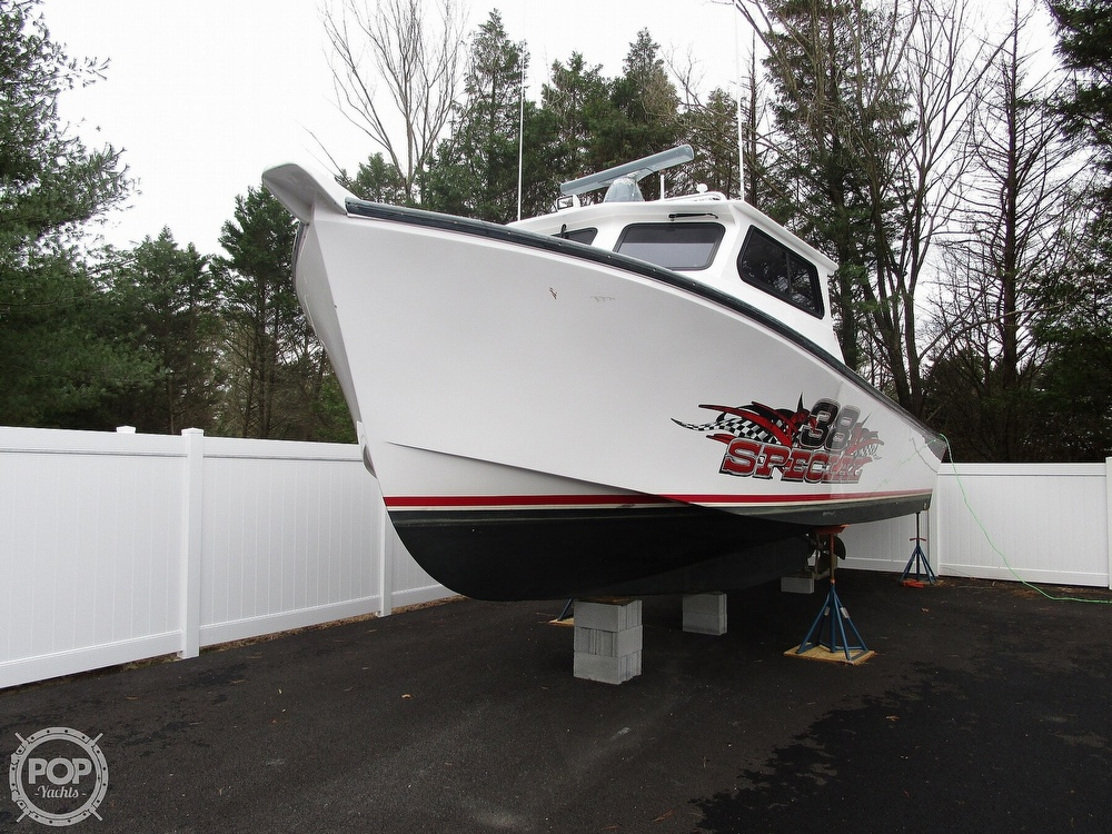 2015 Evans Boats boat for sale, model of the boat is 38 Custom Deadrise & Image # 15 of 40