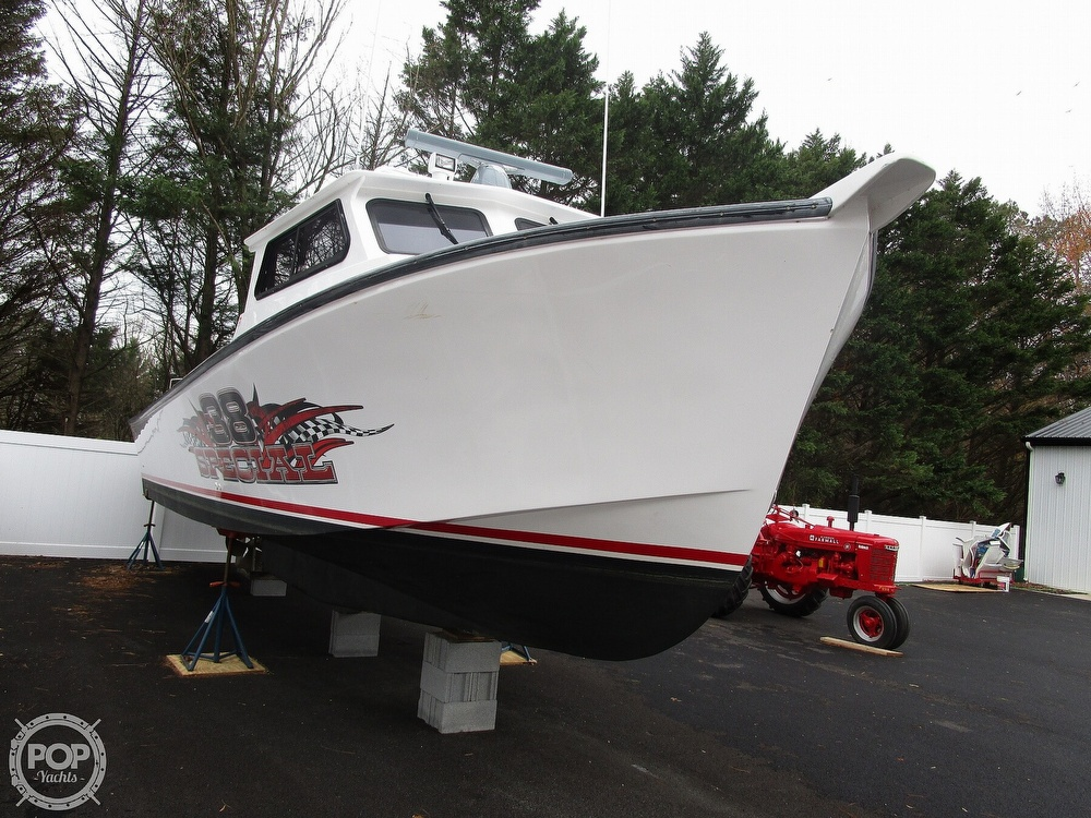 2015 Evans Boats boat for sale, model of the boat is 38 Custom Deadrise & Image # 3 of 40