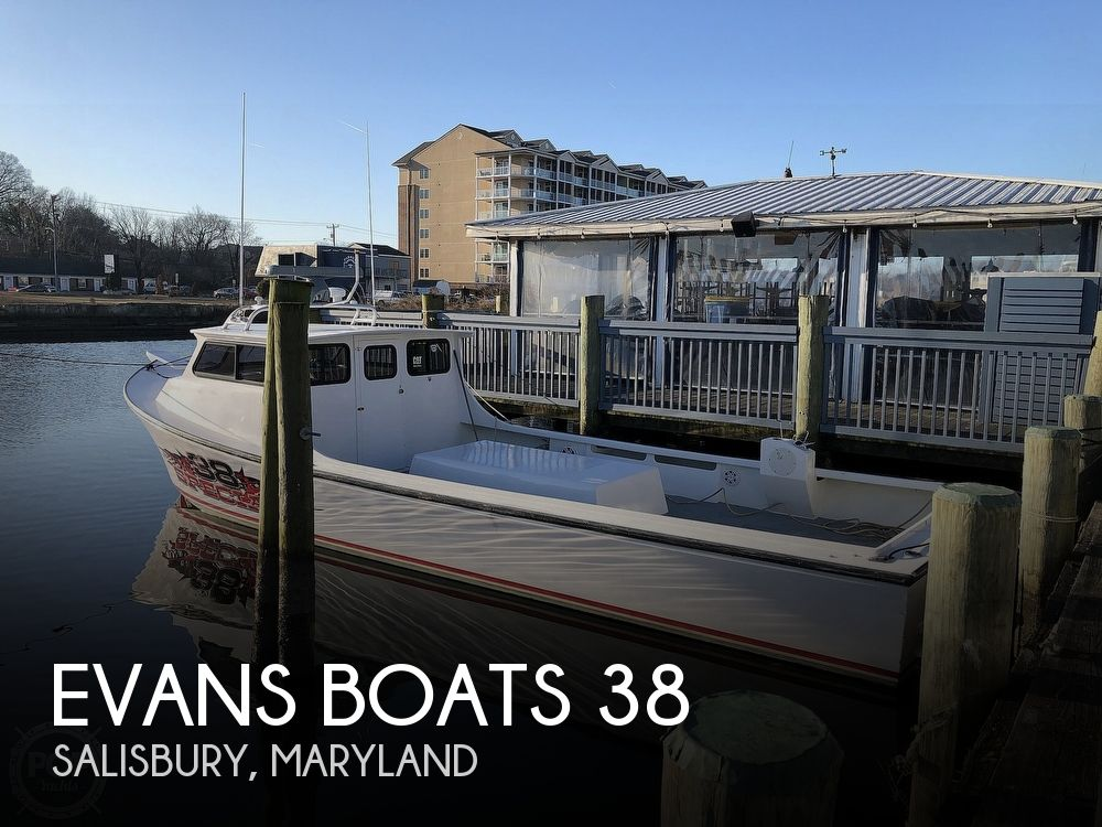 2015 Evans Boats boat for sale, model of the boat is 38 Custom Deadrise & Image # 1 of 40