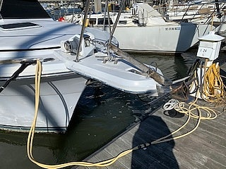 1989 Carver boat for sale, model of the boat is 32 & Image # 4 of 40