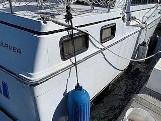 1989 Carver boat for sale, model of the boat is 32 & Image # 20 of 40