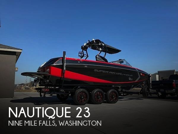 Used Boats For Sale in Spokane, Washington by owner | 2015 Nautique G23