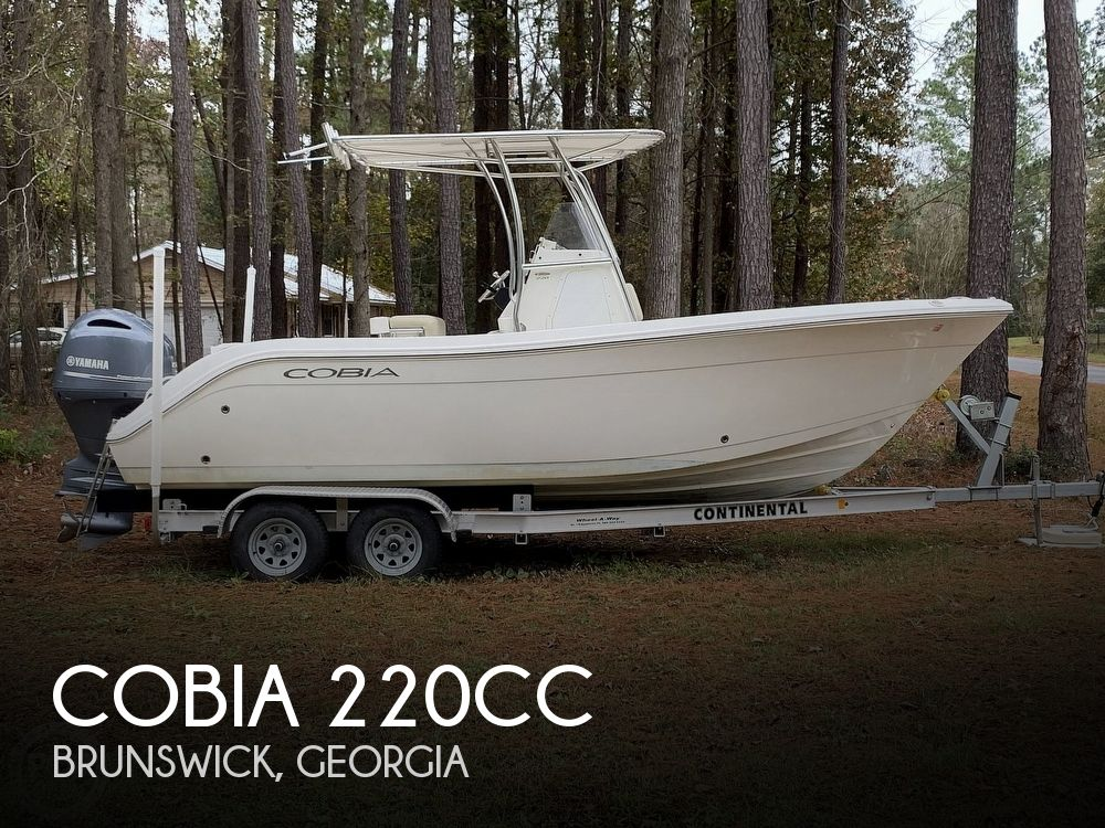 2017 Cobia boat for sale, model of the boat is 220CC & Image # 1 of 40