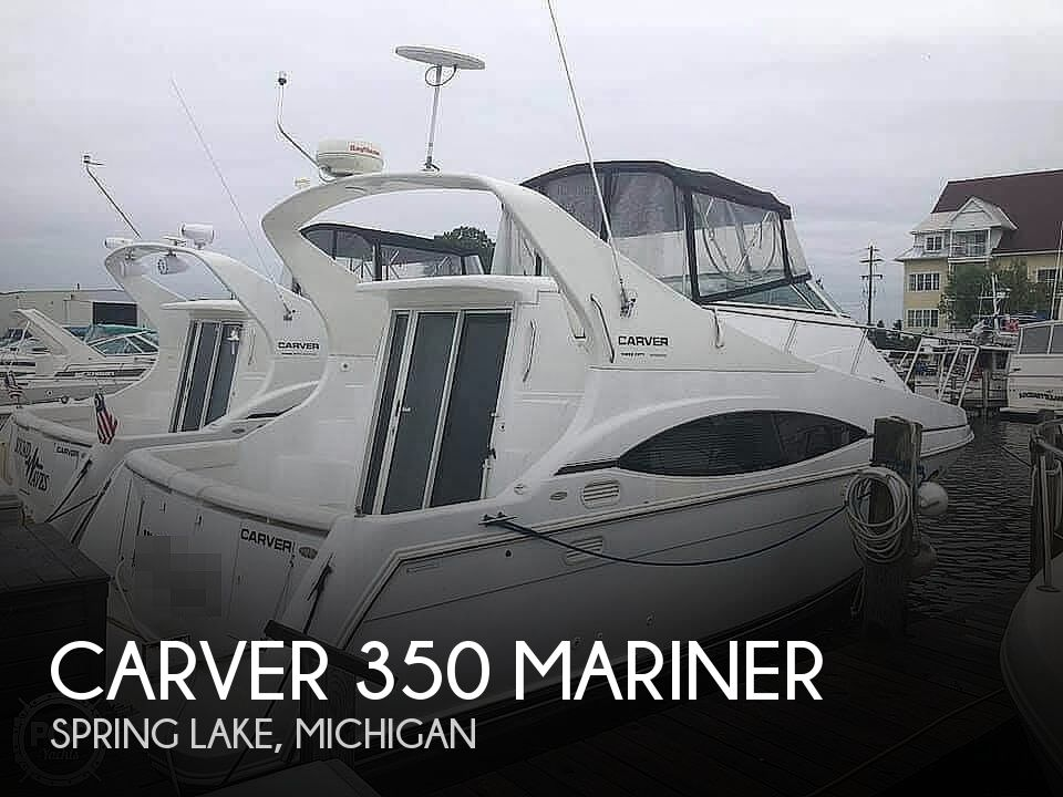 1999 Carver boat for sale, model of the boat is 350 Mariner & Image # 1 of 18