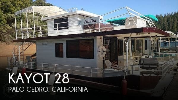 Used Houseboats For Sale in California by owner | 1966 Kayot 38
