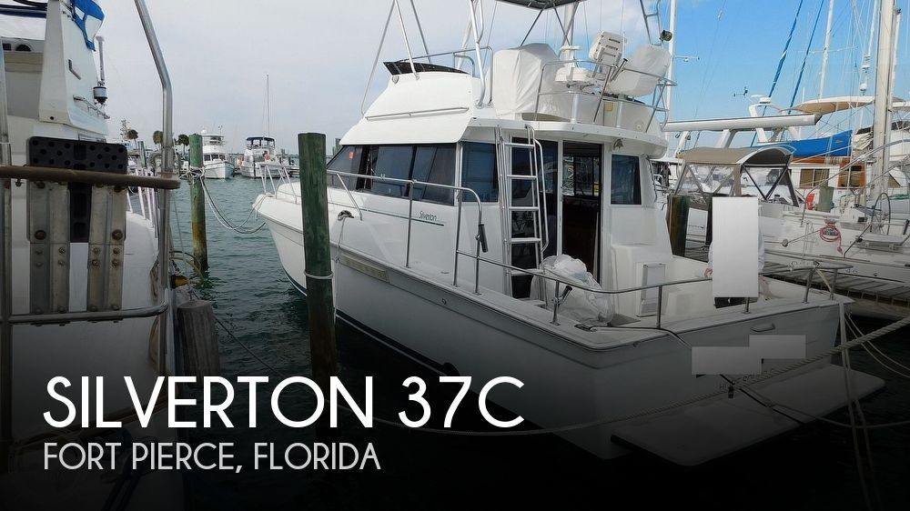 Used Silverton Fishing boats For Sale by owner | 1993 Silverton 37C